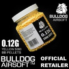 5000 BB Pot of Bulldog 0.12g Yellow Ammo